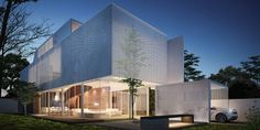 Contemporary house design featuring an exterior perspective of The Greja House. Greja House by Park + Associates Image © Edward Hendricks — in Singapore, Singapore.