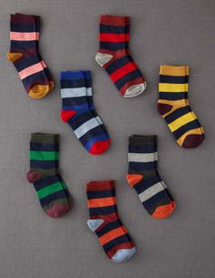 7 Pack Sock Box - Wide Stripe Pack