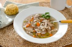 Paleo Crock Pot Chicken Soup - Cook Eat Paleo . http://newestrecipes.com ☻. ☂ ☂ ☻