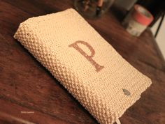Agenda escolar de tricot personalizada