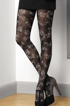 Le Bourget Clara Tights £16.50 from www.MayfairStockings.com