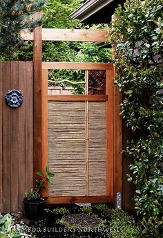 Japanese Garden Fence Design meh its something Find This Pin And More On Outdoor Plant Design