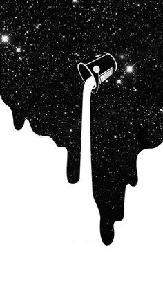 New Wallpaper Preto E Branco Galaxia Ideas Black Wallpaper Iphone, Wallpaper Space, Iphone Background Wallpaper, Trendy Wallpaper, Dark Wallpaper, Pretty Wallpapers, Screen Wallpaper, Cartoon Wallpaper, Galaxy Wallpaper Iphone