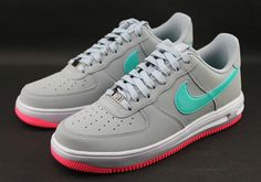 watch 2ee96 a822d Nike Lunar Force 1 Low - Light Magnet Grey - Hyper Jade - SneakerNews.com