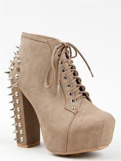 Vintage FRANCHESKA-03 Spike Heel Ankle Boot -