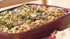 Just a pinch of nutmeg adds unexpected and appealing flavor to this basic creamy noodle dish.