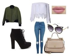 """Sin título #7"" by eulalia-323 on Polyvore featuring moda, rag & bone, Topshop y Dolce&Gabbana"