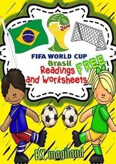 World Cup 2014 Readings and Printables (FREEBIE)