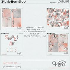 Sweet as ... [Bundled add-on pack] By Vero