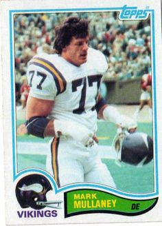 #53 Mark Mullaney #395 TOPPS 1982 Compares to Mike Tilleman, Paul Dickson, Elois Grooms, Tim Johnson, Freddie Joe Nunn