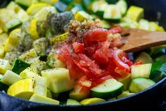 The EASIEST Sauteed Zucchini and Squash - perfect summer side dish! Pizza Side Dishes, Pizza Sides, Low Carb Side Dishes, Healthy Side Dishes, Side Dishes Easy, Sauteed Zucchini Recipes, Sauteed Zucchini And Squash
