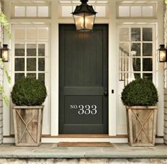 Front Door Decal Vinyl Sticker or DIY Wooden Sign Decal - Thankful - Vinyl Art for Fall Home Decoration, Entryway or Front Porch Decor, Though early within idea, the actual pergola may be enduring somewhat of a modern-day rebirth these kind of. Front Door Entrance, Front Door Colors, Front Entrances, Door Entryway, House Front Door, House Entrance, Front Door Planters, Black Planters, Front Porch Design