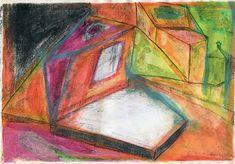 Naprawianie mózgu: OKNO Painting, Painting Art, Paintings, Painted Canvas, Drawings