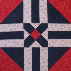 Starwood Quilter: Farmer's Daughter Sampler Quilt. Voters Choice block.