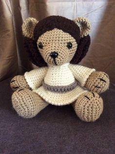Image of Princess Leia Bear