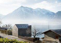 "Beautiful house situated between the banks of Lake Thun that offers panoramic views of the lake and mountains Architects: Marazzi+Paul Architecture ltd Location: Hilterfingen, Switzerland Year: 2016 Photo courtesy: Marazzi+Paul Architecture ltd Description: ""The boathouse is situated between the banks of Lake Thun and a busy street. Inspired by the architecture of the surrounding buildings, a new interpretation …"