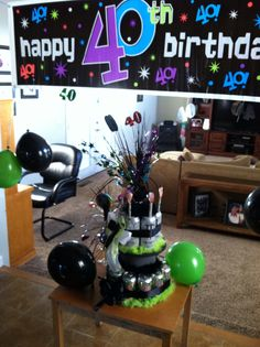 "Monster Energy drink ""cake"" for Chris' 40th!"