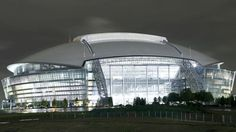 AT&T Stadium (formerly Cowboys Stadium) is located in Arlington TX and is the home of the Dallas Cowboys. It replaced Texas Stadium which opened in 1971 Dallas Cowboys Football, Cowboys Stadium, Dallas Cowboys Pictures, Texas Cowboys, Stadium Tour, Texas Stadium, Stadium Seats, Dallas Attractions, Stadium Architecture