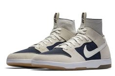 Nike SB Zoom Dunk High Elite to Release in Off-White and Dark Blue 6fd75898dc7