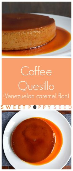 Sweet caramel mixed with a nice hint of coffee in a decadent easy Venezuelan style flan. AMZING!