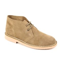 Buy Suede Safari Boots from Spain at SPANISHOPONLINE.COM