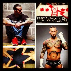 oh collage app, how i <3 you!! CM PUNK