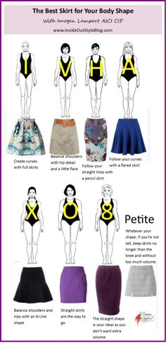 ::whats the best skirt for your body shape