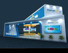 Exhibition area 12X9 3DMAX2009-631 3D Model