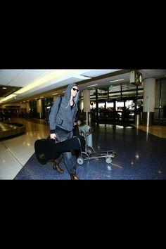 Tom at LAX on Dec 18, 2014