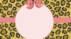 Oncinha com rosa – Kit festa infantil para imprimir – Inspire sua Festa ®