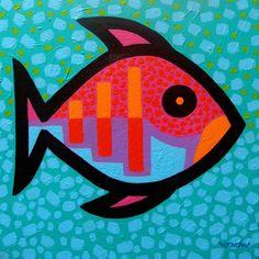Funky Fish  III |Artist John Nolan