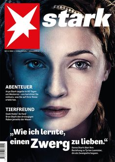Game of Thrones als Cover bei deutschen Medienmarken - grossartig