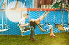 Lauren & Ian's Carnival Engagement by James & Pam, via Flickr