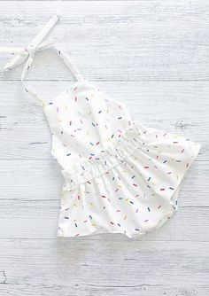 Zoe Baby Romper | MissLylaBoutique on Etsy