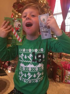 Kaiden's first 100.00$!
