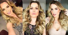 Fernanda Keulla revela quais são os cuidados com seus cabelos loiros e volumosos
