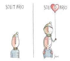 Solidario.