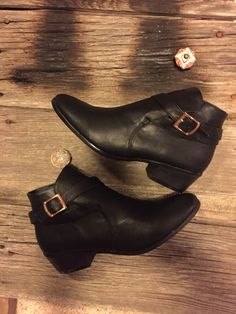 """""""A Shot In The Dark"""" bootie  On sale for $27!  www.thehydeboutique.com"""