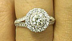 vintage engagement ring Ring Finger