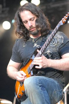 John Petrucci of Dream Theater. A guitarist who will blow you away!