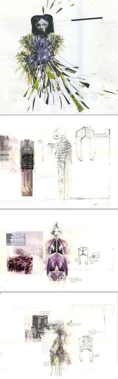 Fashion design sketchbook - concepts, drawings, design development - Jousianne Propp
