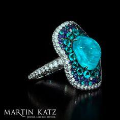 #jewelry #finejewelry #diamonds #paraiba #tourmaline #ring #luxury #MartinKatz #MartinKatzJewels