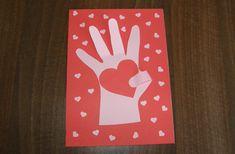 Deň matiek - darček pre mamu - ruka so srdiečkom