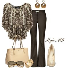 """Sassy for work"" by romigr99 on Polyvore"