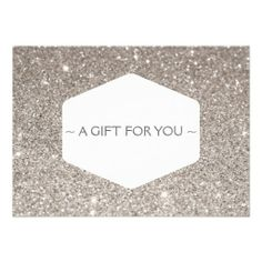 Shop COPPER GLITTER Gift Certificate created by Personalize it with photos & text or purchase as is! Cheap Christmas Cards, Christmas Photo Cards, Christmas Greeting Cards, Gift Certificate Template, Gift Certificates, Gift Card Template, Makeup Artist Cards, Makeup Artists, Cosmetologist Gifts