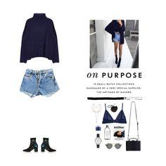 """#purpose"" by nudenim ❤ liked on Polyvore featuring Levi's, Valentino, Eberjey, Zimmermann, Olivia Burton and Sara Happ"