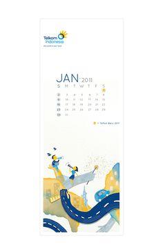 """2011 Calendar """"Hands"""" on Behance"""