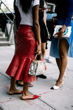 """vogueably: """" streetstyle """""""