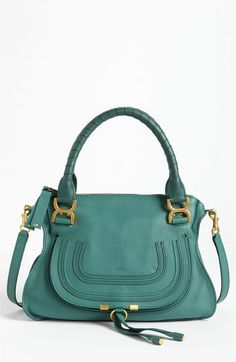 Chloé 'Marcie - Small' Leather Satchel. I want one in every color!