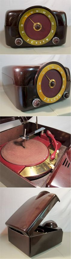 Zenith H-664 Radio Phonograph (1951)